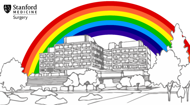 Stanford Surgery PRIDE Zoom Background