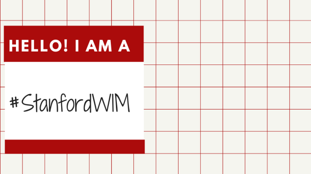 #StanfordWIM Women in Medicine Month Zoom Background