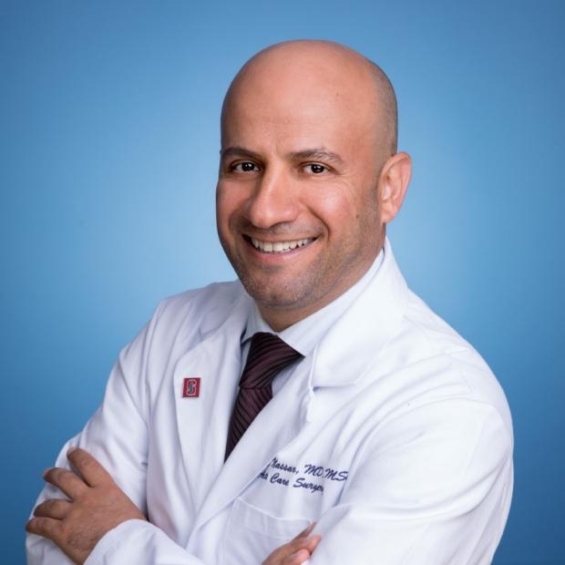 Stanford Surgeon Dr. Aussama Nassar