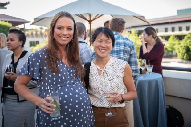 General Surgery Chief Dr. Joy Chen and Vascular Surgery Resident Dr. Elizabeth George.