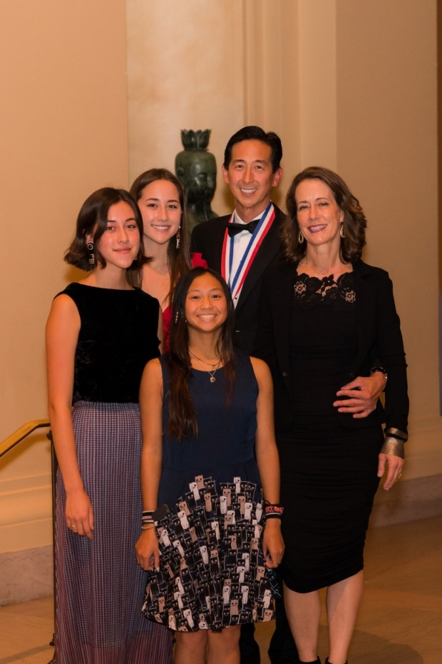 Dr. Chang and his family