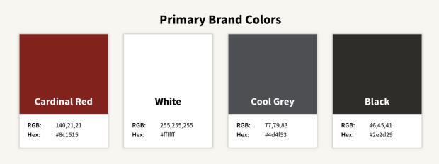 Primary Brand Colors